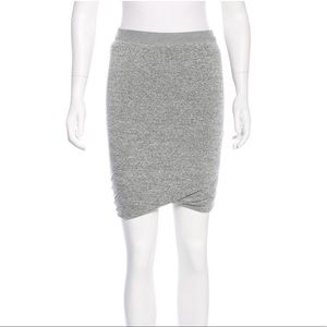 T by Alexander Wang jersey knee-length skirt